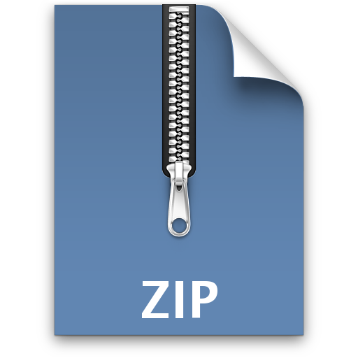 how to make a zip folder