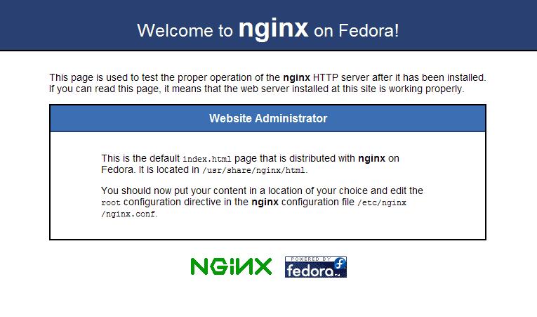 nginx-homepage