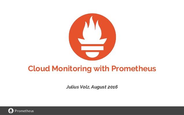 Prometheus: Solve montoring in the cloud | TecDistro